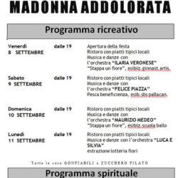 Festa della Madonna Addolorata a Rovato