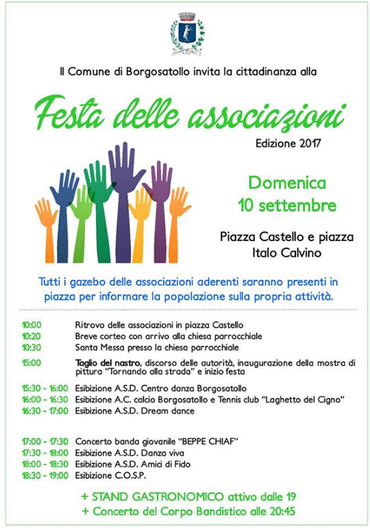 Festa delle Associazioni a Borgosatollo