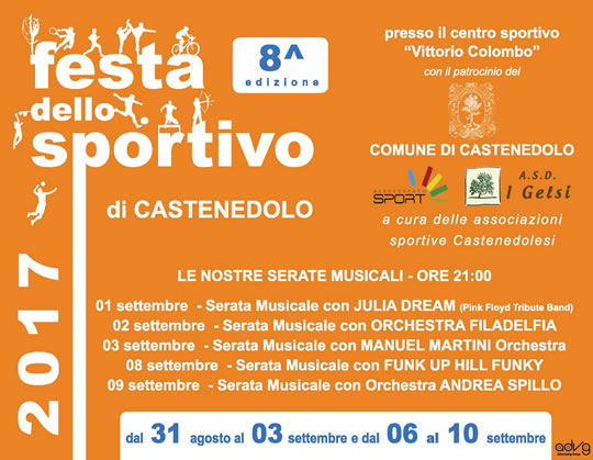 Festa dello Sportivo a Castenedolo