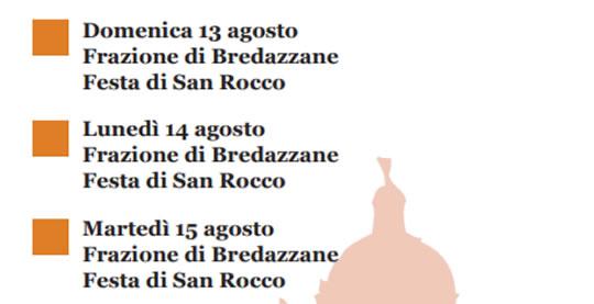 Festa di San Rocco a Bredazzane di Montichiari