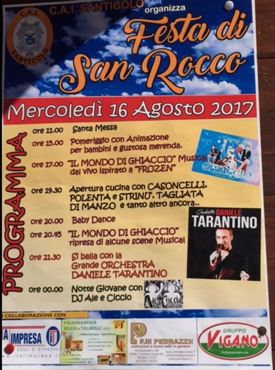 Festa di San Rocco a Santicolo