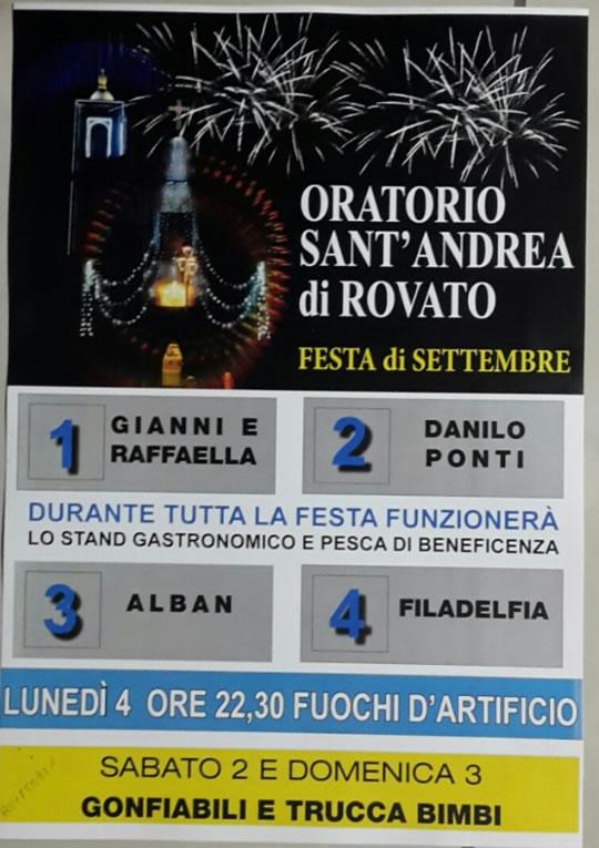 Festa di Sant'Andrea di Rovato