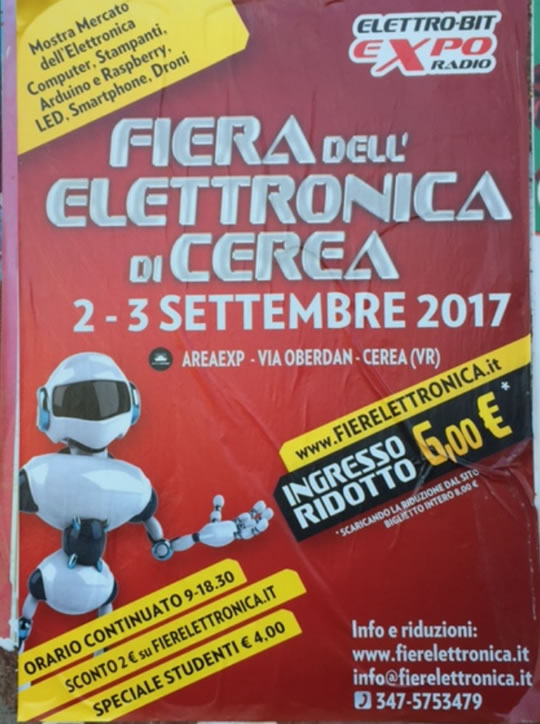 Fiera dell'Elettronica di Cerea VR