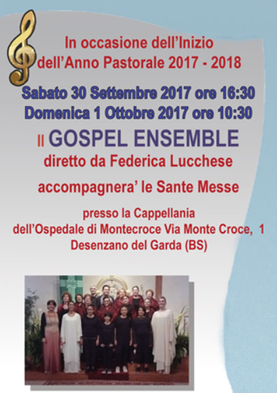 Gospel Ensemble a Desenzano