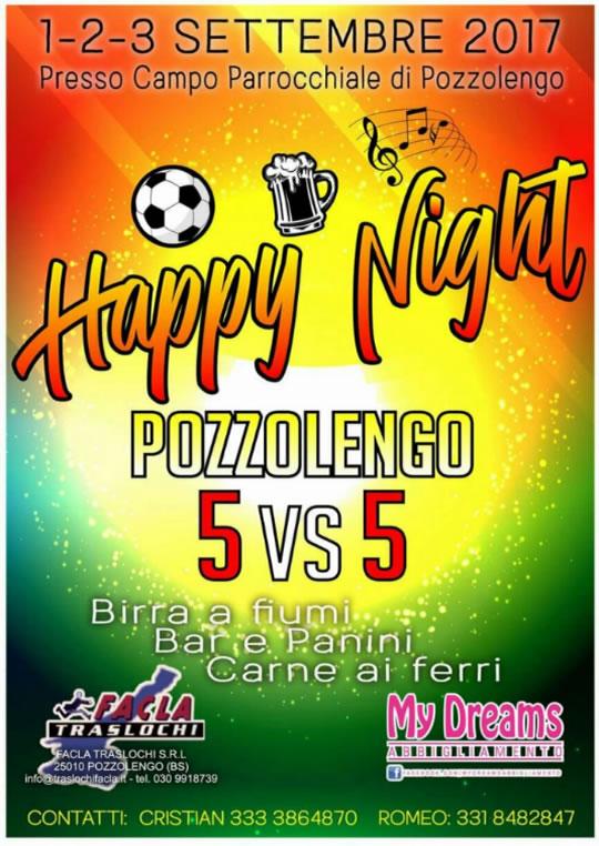 Happy Night a Pozzolengo