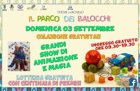 Il Parco dei Balocchi a Darfo Boario Terme