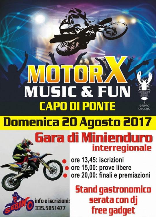 Motor X Music & Fun a Capo di Ponte