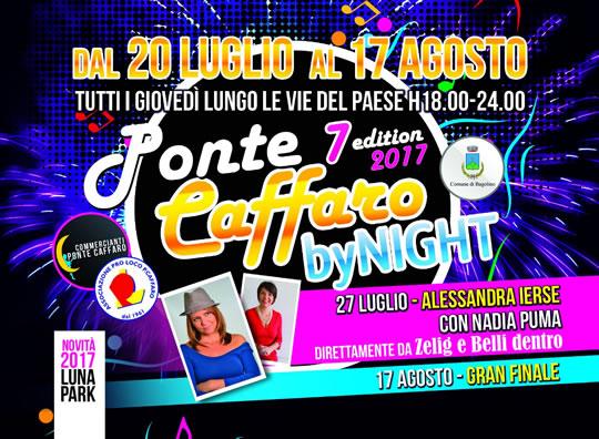 Ponte Caffaro By Night