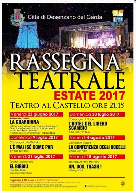 Rassegna Teatrale a Desenzano