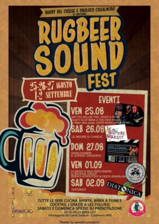 RugBeer Sound Fest a Casalmoro