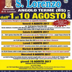 Sagra di San Lorenzo a Angolo Terme