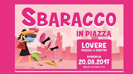 Sbaracco in Piazza a Lovere