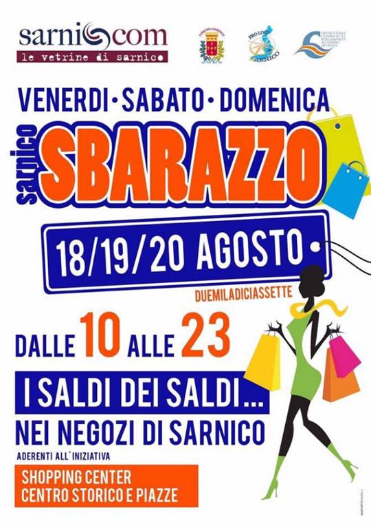Sbarazzo a Sarnico