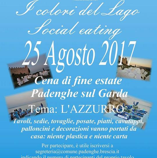 Social Eating i Colori del Lago a Padenghe