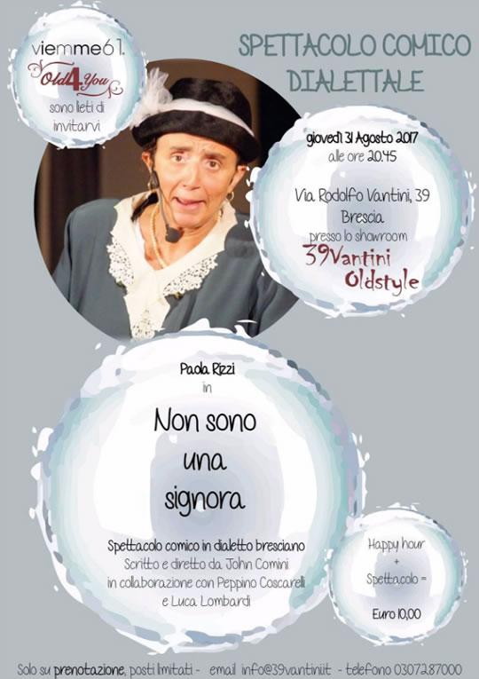 Spettacolo Dialettale a Brescia