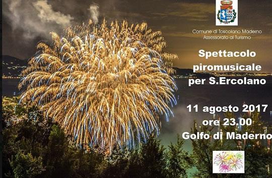 Spettacolo Piromusicale per S.Ercolano a Toscolano Maderno
