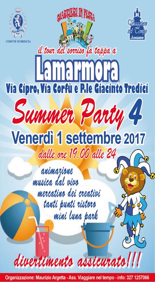 Summer Party a Brescia
