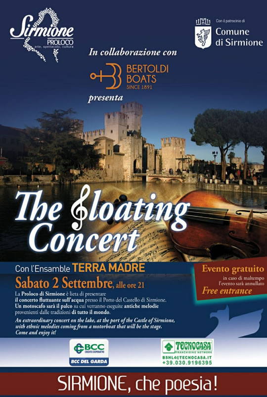 The Floating Concert a Sirmione