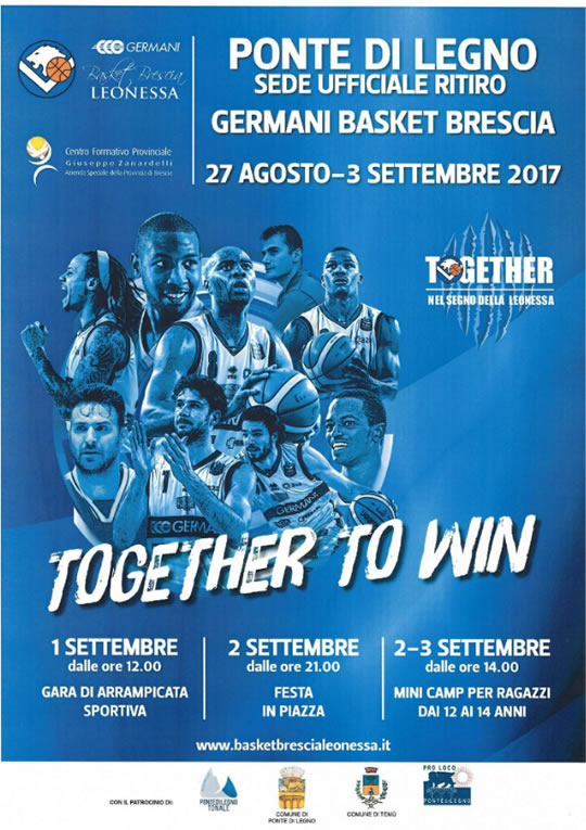 Together to win a Ponte di Legno