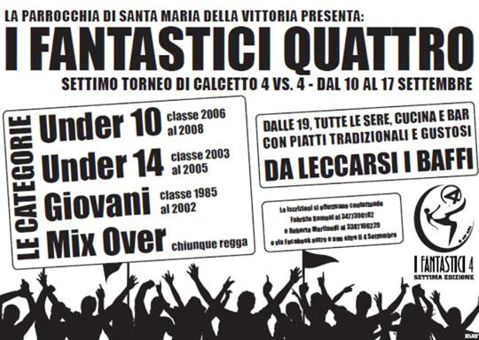 Torneo I Fantastici 4 a Brescia
