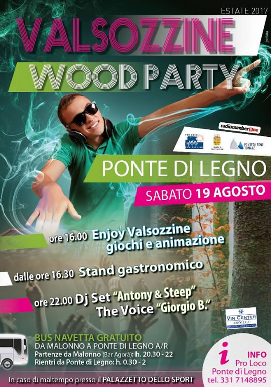 Valsozzine Wood Party a Ponte di Legno