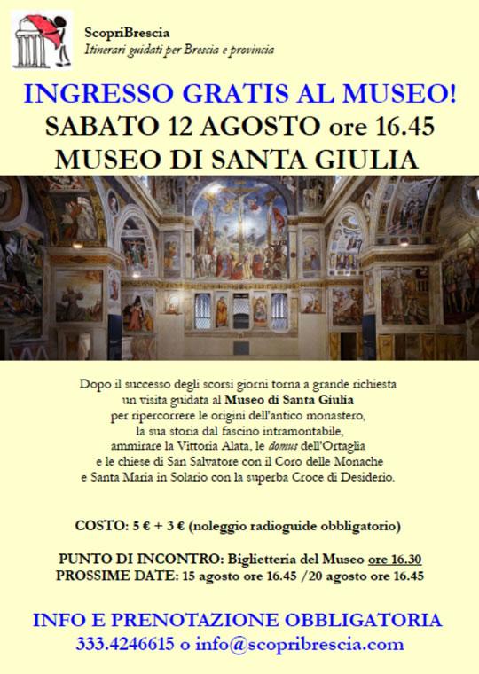 Visita al Museo di Santa Giulia
