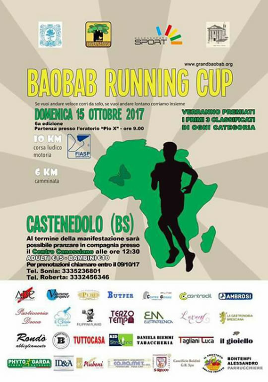 Baobab Running Cup a Castenedolo