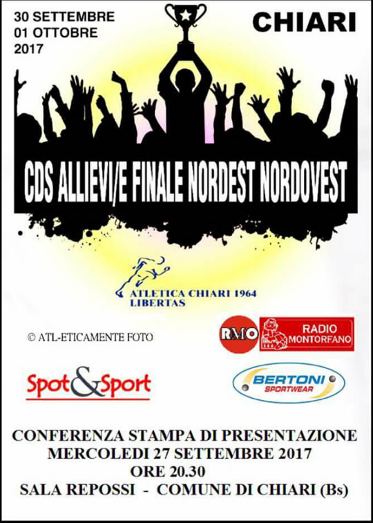 CDS Allievi/e Finale Norest Nordovest a Chiari