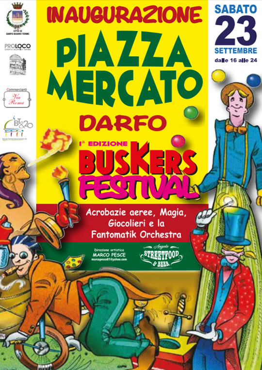 Darfo Buskers Festival