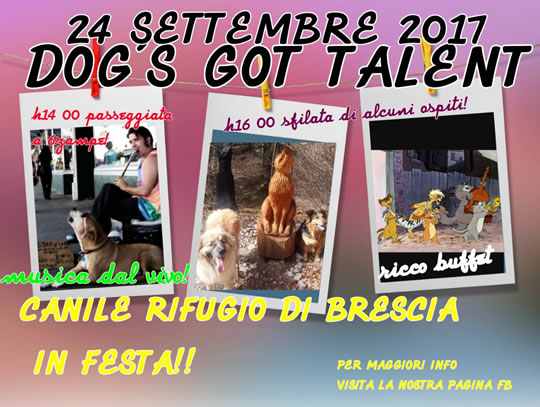 Dog's Got Talent a Brescia