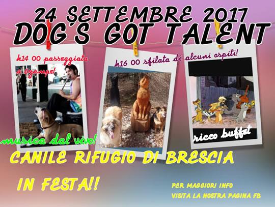 Dog's Got Talent a Brescia