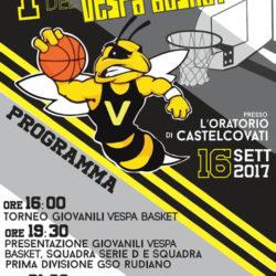 Festa Vespa Basket a Castelcovati