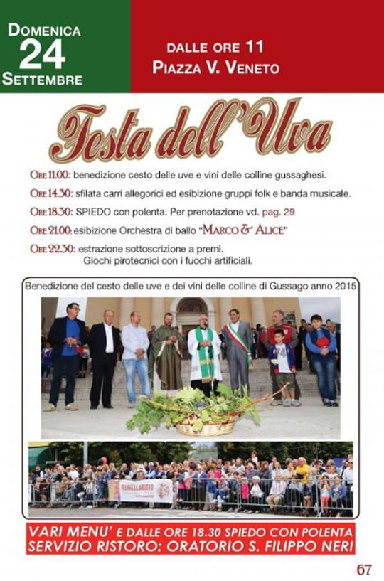 Festa dell'Uva a Gussago