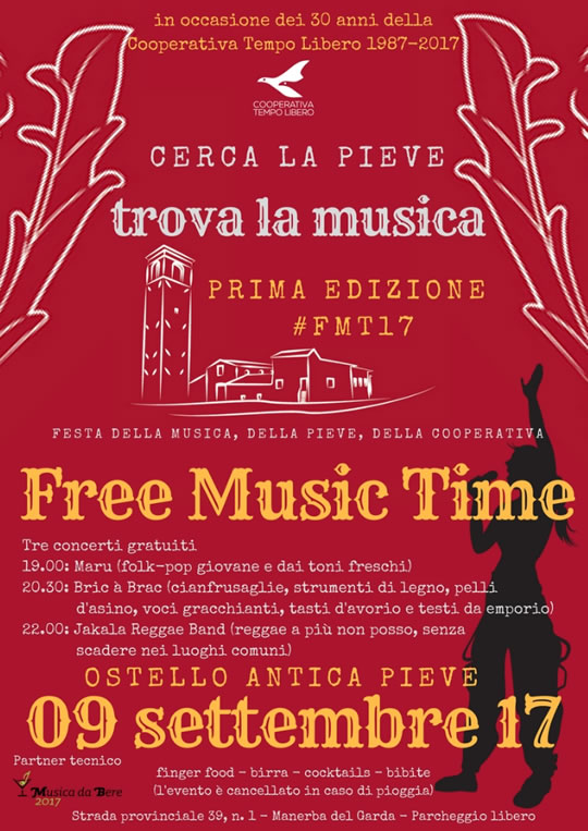 Free Music Time a Manerba del Garda