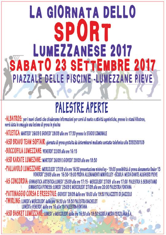 Giornata dello Sport Lumezzanese
