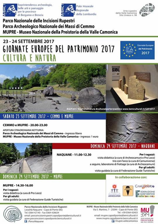 Giornate Europee del Patrimonio a Cemmo