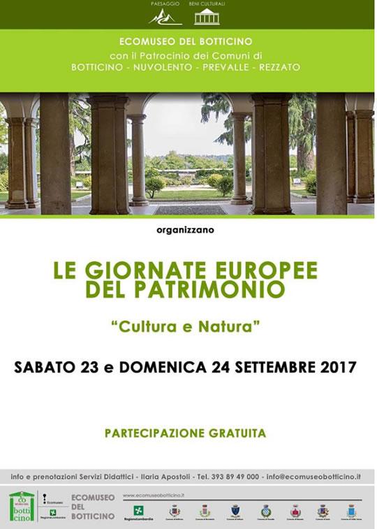 Giornate Europee del Patrimonio Giornate Europee del Patrimonio