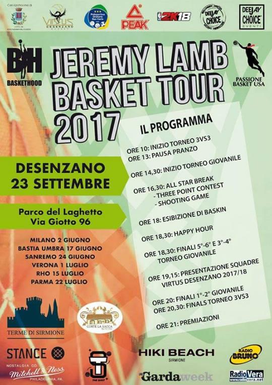 Jeremy Lamb Basket Tour a Desenzano