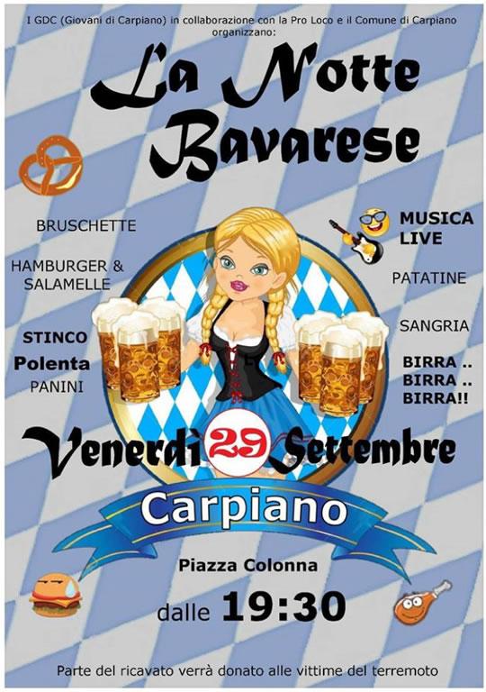 La Notte Bavarese a Carpiano MI