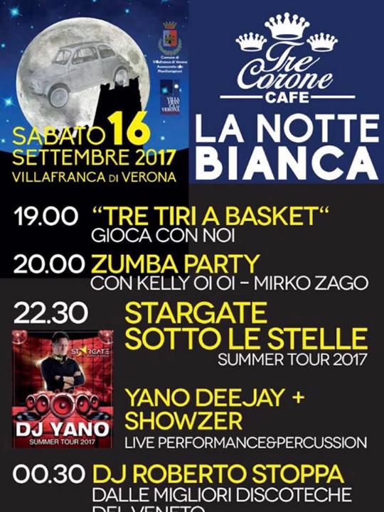 La Notte Bianca a Villafranca di Verona