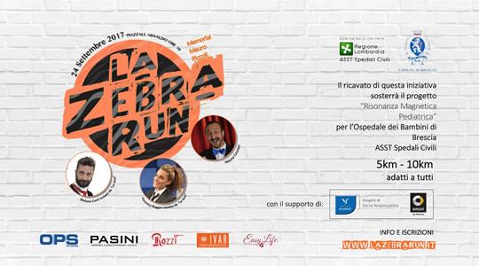 La Zebra Run a Brescia