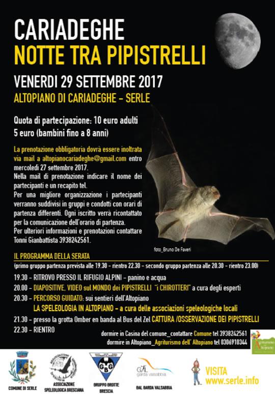 Notte Tra Pipistrelli a Serle