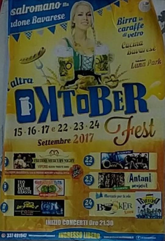 Oktober Fest a Casalromano