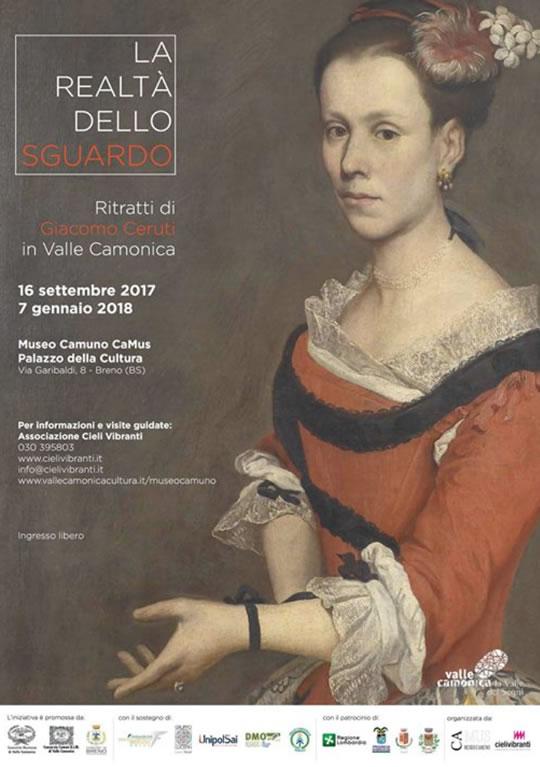 Ritratti di Giacomo Ceruti in Valle Camonica