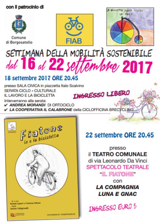 Settimana della Mobilità Sostenibile a Borgosatollo