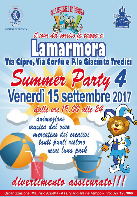 Summer Party a Lamarmora