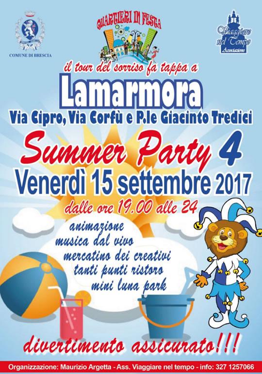 Summer Party a Lamarmora
