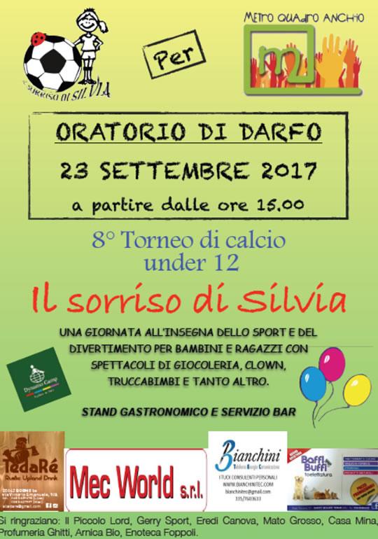 Torneo Il Sorriso di Silvia a Darfo Boario Terme