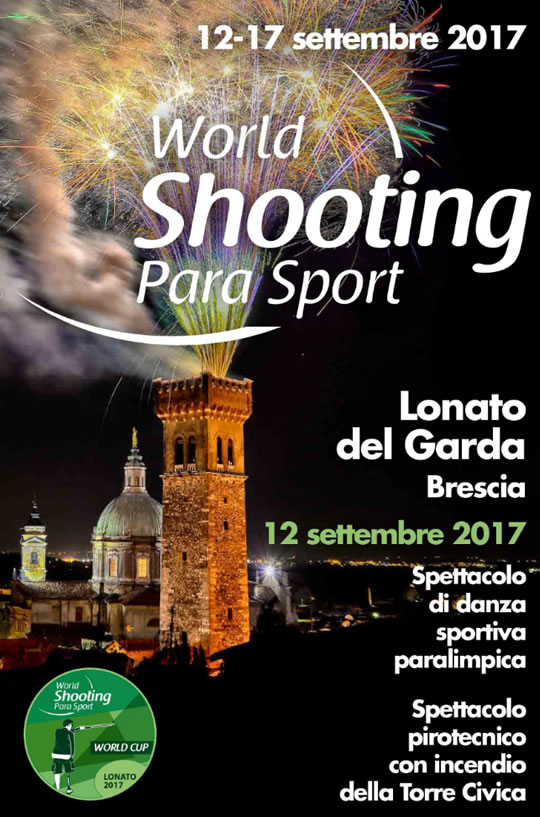 World Shooting Para Sport a Lonato