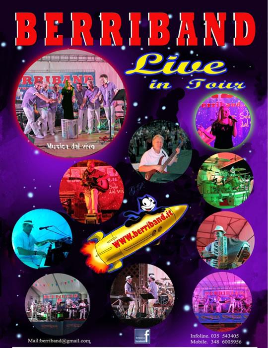 berri band live in tour